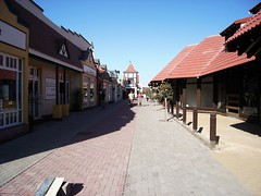 Shopping street in Swakop