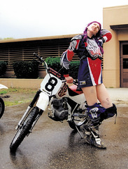 1998: Love at first slide (ninavizz) Tags: purple dirt motorcycle 1998 oops dirtbike sliding bruises supercamp flattrack xr100 americansupercamp dannywalker