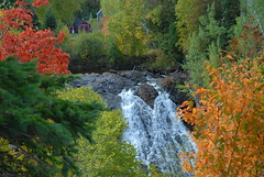 Eagle River Falls by Jim Sorboe