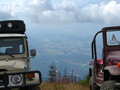 Chilliwack - FJ Cruiser Run (Tjflex2) Tags: trees friends canada mountains fall club vancouver outdoors bush bc view jeep offroad 4x4 200 views toyota landcruiser mountians fourwheeling chilliwack ebi fjcruiser coastalcruisers ebicruiserparts