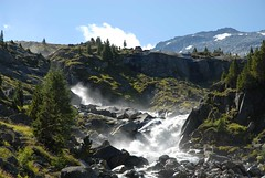 Rampancy (dellafels) Tags: mountain alps nature topf25 water stone landscape ilovenature austria rocks 1on1 dellafelspic bluelist 25faves nationalparkhohetauern abigfave obersulzbachtal