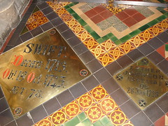 Floor of the St Patrick's Cathedral