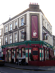 The Cricketers, Lower Clapton (Fin Fahey) Tags: city uk greatbritain england urban london geotagged pub inn europe unitedkingdom britain eu drinks hackney innercity europeanunion clapton eastlondon e5 publichouse capitalcity innerlondon northeastlondon lowerclapton thecricketers finfahey cricketfieldroad