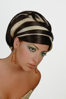 Trendy updo hairstyles 2009