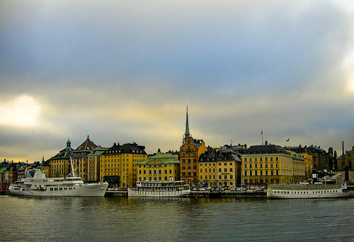 Gamla Stan - The Old Town of Stockholm