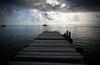 Pier (iko) Tags: voyage travel sky cloud 1025fav 510fav island pier boat screensaver francaise ile ciel nuage ponton polynesie oceanie interestingness94 i500 huahiné