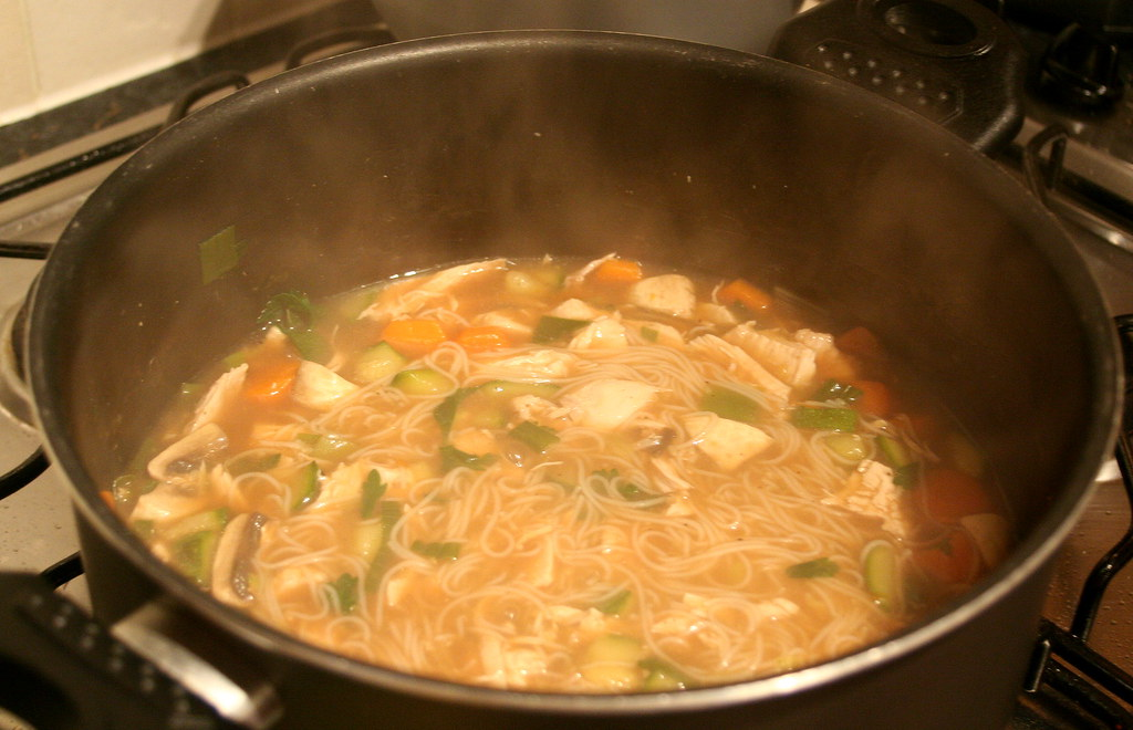 Home-made Chicken Noodle Soup