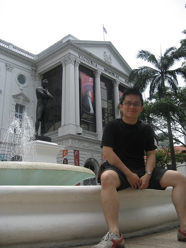 Stamford Raffles & Victoria Memorial Hall
