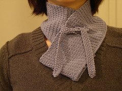 bainbridge scarf: finished