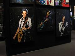 Keith Richards- Elvis - Mick Jagger - Paintings 2