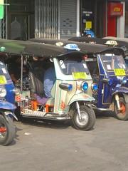 Tuk Tuks in Chiang Mai