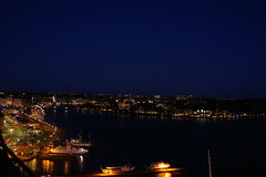 Night view from Slussen (Ellefson) Tags: longexposure night sweden stockholm stan slowshutter gamla