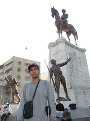 Victory Monument di Zafer Square, Ankara, Turkey