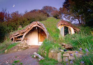 Front of the Simondale Hobbit House. (Foto: Blake Lawrence)