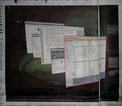 Vista in de krant... met iTunes duidelijk in beeld
