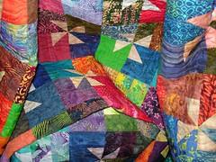 crumpled quilt