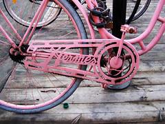 hermes (miss_kcc) Tags: pink detail bike sweden stockholm swoon hermes