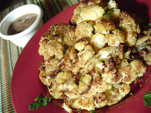 AGDAH: Slow-Roasted Cauliflower with Pounded Anchovies