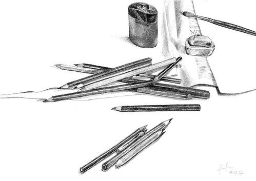 Crayons by Liza Hirst