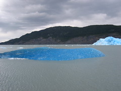 The bluest ice in the world
