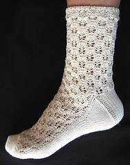 A free Panda Cotton Sock Pattern
