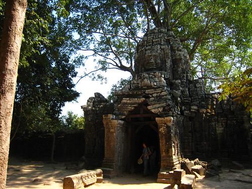 達松將軍寺的招牌東門。