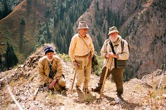 Three geologists (mm-j) Tags: mountain contax geology exploration centralasia t2 3000m kyrygyzstan