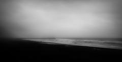 Black sand beach (Rene Wieland) Tags: iceland island beach sand coast water atlantic travel minimalstic minimalism landscape