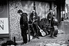Lost Instrument (Alfred Grupstra) Tags: people blackandwhite men cultures music street musician urbanscene europe history