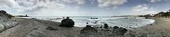 Rockeando en la playa (LtRider) Tags: blues azul sky cielo walk paseo vistas view spain españa flickr rockroll rocks rocas sand arena sea mar waves olas andalusia andalucia casares beach playa panoramica panorama