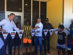 Health clinic opening, Robinson River 26/04/2018