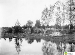 tm_6947 - Folkets Park, Tidaholm (Tidaholms Museum) Tags: folkparken tidaholm svartvit positiv stenbumling