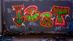 Oldenburg - (street: Melkbrink) 430th picture / Graffiti, street art (tusuwe.groeber) Tags: projekt project lovelycity graffiti germany deutschland lowersaxony oldenburg city streetart niedersachsen farbig farben favorit colourful colour sony sonyphotographing nex7 bunt red rot art gebäude building gelb grün green yellow konzept concept wall wand halloffame wandgestaltung lager lagerhalle hall halle melkbrink