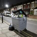 Dumped Bin - Dawlish Road, Tottenham N17 thumbnail