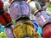 Paris, Square des Noctambules (2000) by Jean-Michel Othoniel (Sokleine) Tags: othoniel jeanmichelothoniel noctambules verre murano perles pearls glass squaredesnoctambules metro bouchedemétro metroentrance 2000 paris 75002 iledefrance france frenchheritage colors couleurs