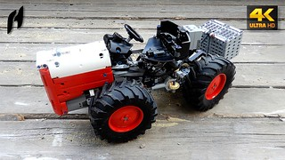 Articulated Utility Tractor (MOC - 4K)