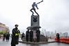 Para Prezydencka złożyła kwiaty przed Pomnikiem Katyńskim w Jersey City (Kancelaria Prezydenta) Tags: pad akd paraprezydencka wizytawusa jerseycity