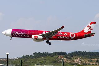 9M-XXA A333 AIR ASIA WMKK