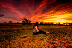 The Angry Nimbus (ashwaters77) Tags: nature beautiful beauty girl woman clouds landscape park sunset sun travel traveling scenic