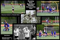 WY State H.S. Girls Soccer Championship 2018 (nevadoyerupaja) Tags: girls highschool youth young athlete soccer futbol wyoming usa jacksonhole cheyennecentral thunderbasin competition match tournament champion championship rain osprey spring