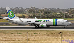 F-GZHJ LMML 28-04-2018 (Burmarrad (Mark) Camenzuli Thank you for the 12.2) Tags: airline transavia france aircraft boeing 73786j registration fgzhj cn 37778 lmml 28042018