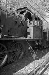 Dampflokmuseum Hermeskeil (Ronald_H) Tags: dampflokmuseum hermeskeil steam locomotive railway museum diafine nikon fm10 black white bw film 2018