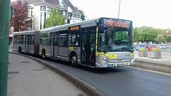 (Groupe Lacroix) Stivo Heuliez GX 427 BQ-916-VE (78) n°621 (3) (couvrat.sylvain) Tags: stivo autobus bus saintouen laumône stouen heuliezbus gx 427 gx427 articulé groupe lacroix