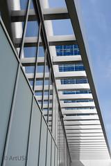 Ladder to Success (ARTUS8) Tags: flickr spiegelung fassade nikon1635mmf40 linien modernearchitektur nikond800 pastell