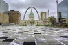 Kiener Plaza (EEngler) Tags: 2018 arch downtown downtownstlouis gatewayarch stlouisarch riverfront stlouis missouri unitedstates us leadinglines