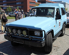 Patrol (Schwanzus_Longus) Tags: schuppen 1 eins bremen german germany old classic vintage car vehicle 4x4 awd 4wd offroad offroader japan japanese nissan patrol
