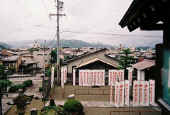 Top of the town - Takayama (cactus_chef) Tags: japan 2016 olympus om1 fujifilm fuji film iso200 iso 200 iso400 olympusom1 travel 28mm 50mm 18 f18 f28 om bellhowell 50mmf18 28mmf28 backpacking