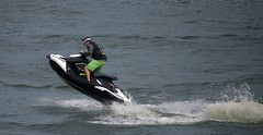 Jet Propulsion (Scott 97006) Tags: seadoo water recreation river fun sport machine ride stunt takeoff spray jet splash