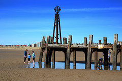Pictures of old St Annes Pier (Tony Worrall) Tags: england regional region area northern uk update place location north visit county attraction open stream tour country welovethenorth nw northwest britain english british gb capture buy stock sell sale outside outdoors caught photo shoot shot picture captured resort town lancs lancashire fylde fyldecoast coastal stannes stannesonsea pier relic seaside seashore seasidetown beach decay forgotten olden rusty past