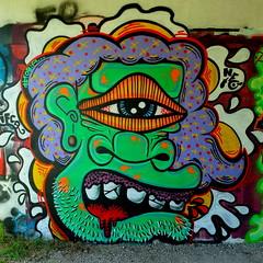 Graffiti (oerendhard1) Tags: graffiti streetart urban art vandalism illegal rotterdam oerendhard rozenbrug ifca opes krushr neto fobia nono les cmf